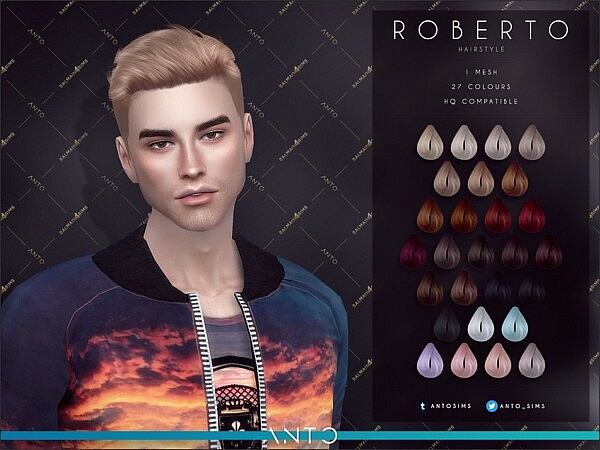 Roberto Hair by Anto from TSR