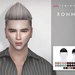 Ronnie Hair 145 sims 4 cc