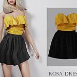 Rosa Dress sims 4 cc