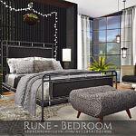 Rune Bedroom sims 4 cc
