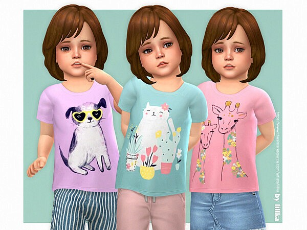 Sally T Shirt sims 4 cc