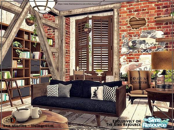 Sea stories livingroom