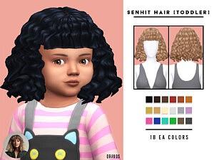 Senhit Hair Toddlers sims 4 cc