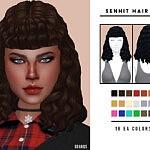 Senhit Hair V2 sims 4 cc