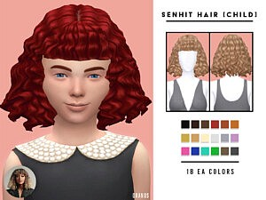Senhit Hair sims 4 cc1