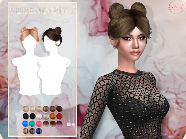 Serendipity Hair by JavaSims from TSR