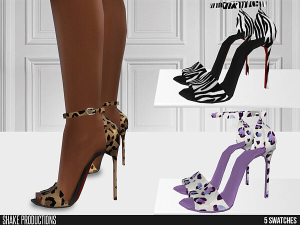 ShakeProductions 661 High Heels sims 4 cc