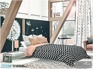 Shin Bedroom sims 4 cc