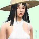 Shoulder length hair sims 4 cc