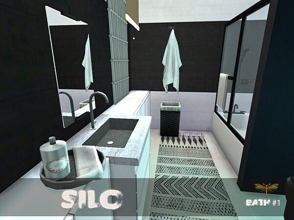 Silo Bath One sims 4 cc