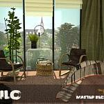 Silo Master Bedroom sims 4 cc