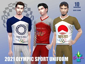 SimmieV 2021 Olympic Sport sims 4 cc