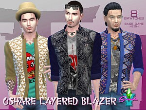 SimmieV Oshare Layered Blazer v2