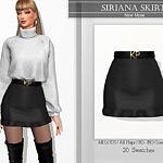 Siriana Skirt sims 4 cc