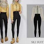 Ski Suit sims 4 cc