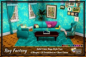 Solid Rugs sims 4 cc