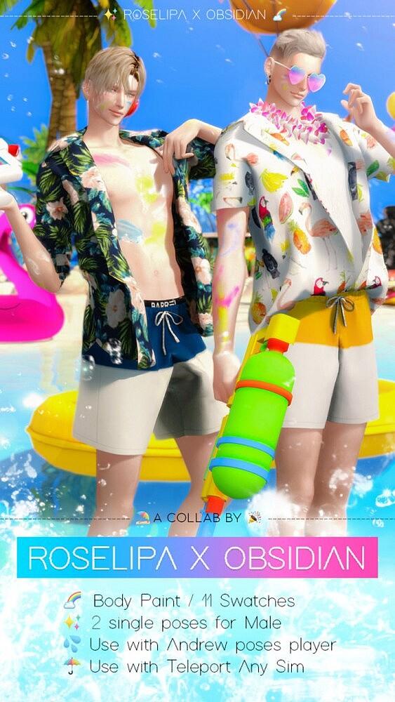 Songkran Festival 2021 sims 4 cc