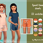 Sport time shorts sims 4 cc