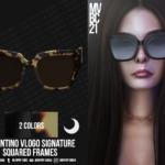 Squared Acetate Frames sims 4 cc