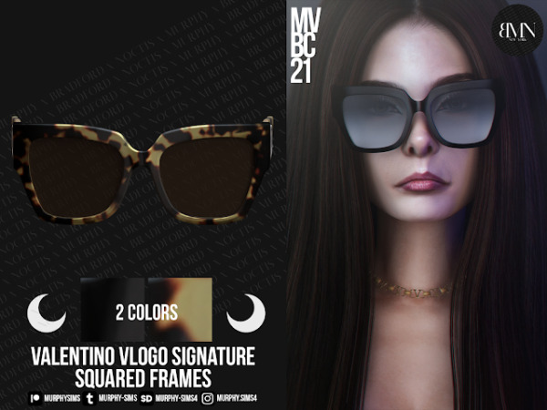 Squared Acetate Frames from Murphy