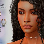 Star Nose Ring sims 4 cc