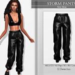 Storm Pants sims 4 cc