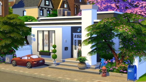 Student Starter House sims 4 cc