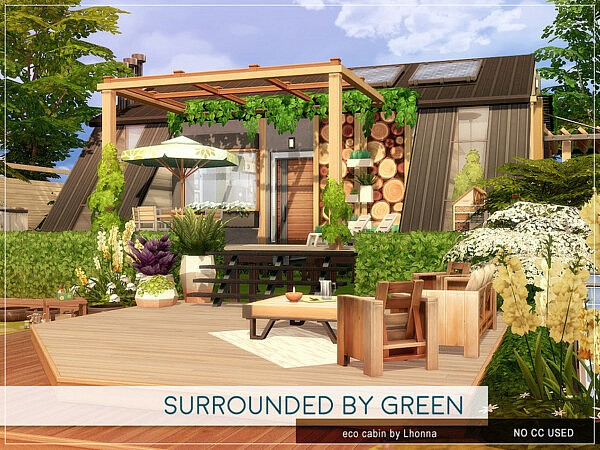 Surrounded by Green sims 4 cc