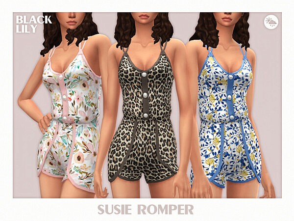 Susie Romper sims 4 cc