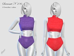 Swimsuit N106 sims 4 cc