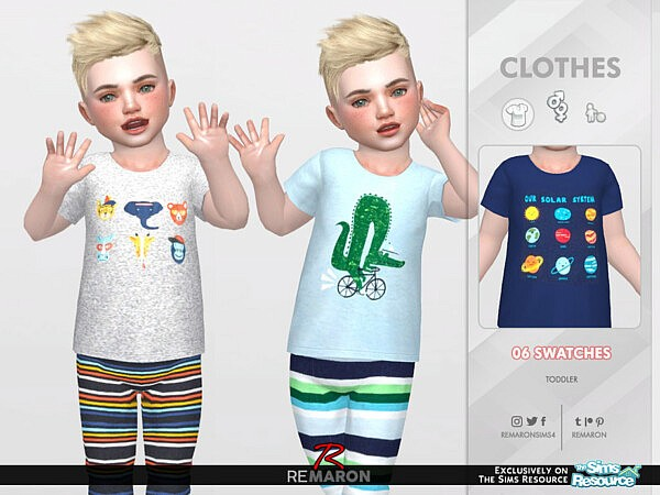 T Carters PJ Shirt 01 by remaron from TSR