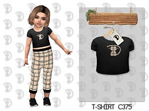 T shirt C375 sims 4 cc