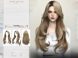 TO0418 Hair sims 4 cc