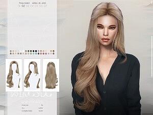 TO0422 hair sims 4 cc