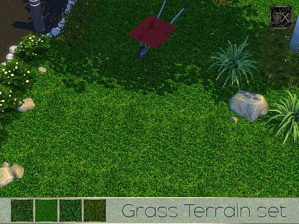 TX Grass Terrain Set by theeaax from TSR