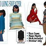 Tamo Sweater sims 4 cc