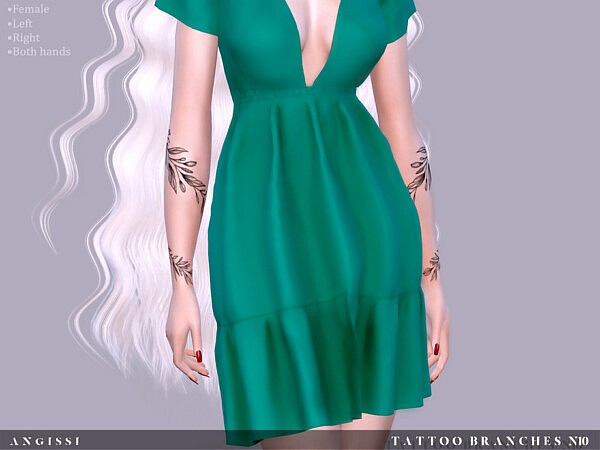 Tattoo Branches n10 by ANGISSI from TSR