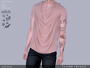 Tattoo Chaotic sims 4 cc