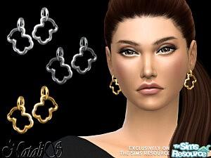 Teddy bear earrings sims 4 cc