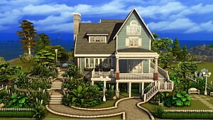 The Flower Cabin sims 4 cc