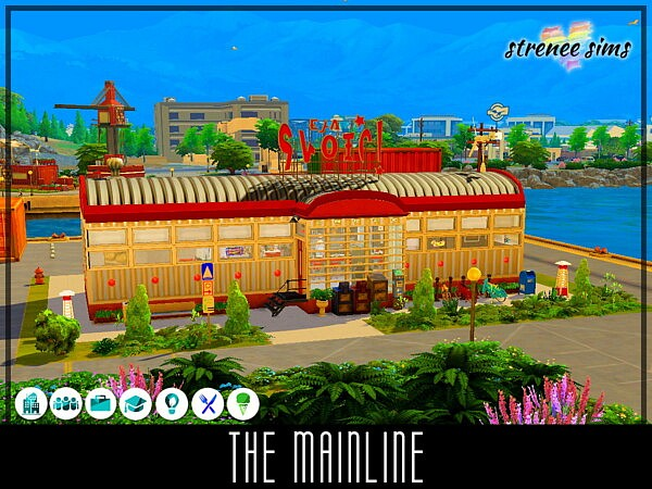 The Mainline sims 4 cc