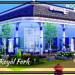 The Royal Fork sims 4 cc