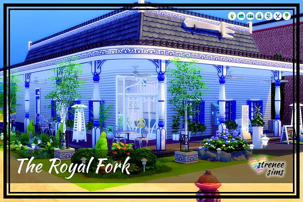 The Royal Fork sims 4 cc
