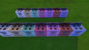 The Yum cooker sims 4 cc