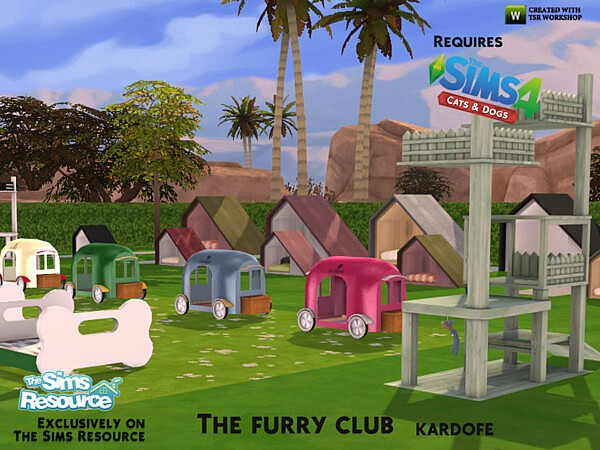 The furry club sims 4 cc