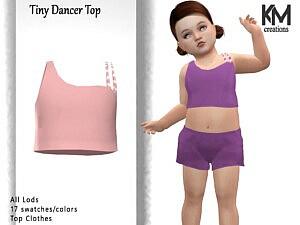 Tiny Dancer Top sims 4 cc