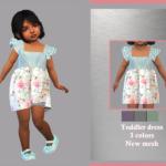 Toddler Dress Aline sims 4 cc