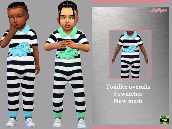 Toddler Overalls Arthur sims 4 cc