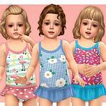 Toddler Swimsuit P16 sims 4 cc