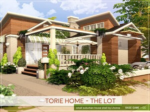 Torie Home The Lot sims 4 cc